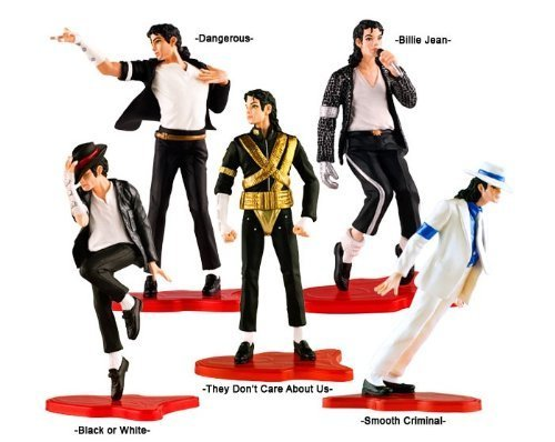 Set of 5 pcs Figure Box Set Michael Jackson Dolls