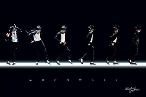 Michael Jackson Moonwalk Poster Art Print